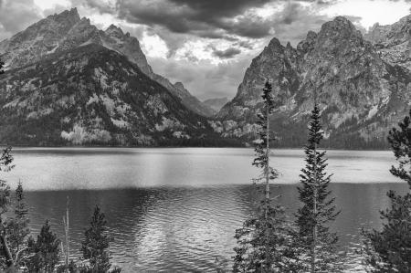 Jenny Lake BW 1 (1 of 1)