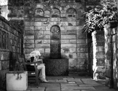 Muslim Girl Bishop's Garden