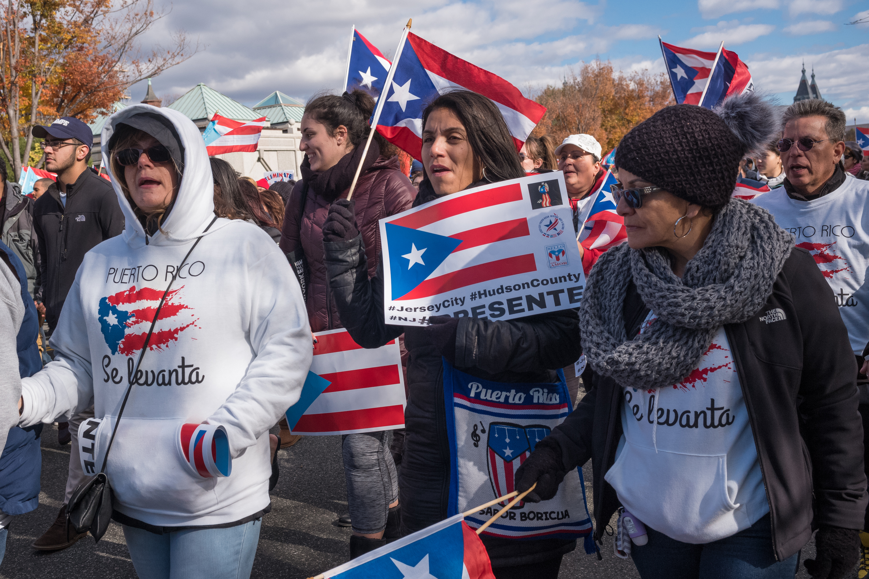 Unity March For Puerto Rico-5